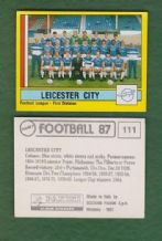 Leicester City Team 111
